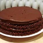 Пирожные шоколадные