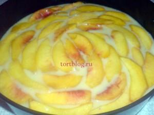 p71 300x225 Персиковый пирог