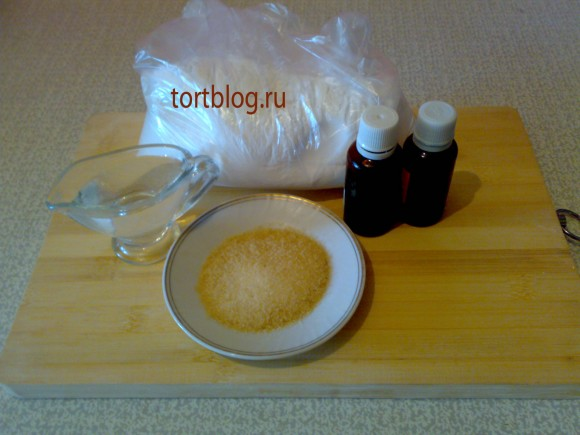 Желатиновая мастика для торта