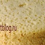 Бисквит в кастрюле
