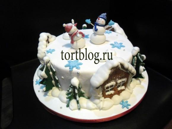 Новогодние торты.