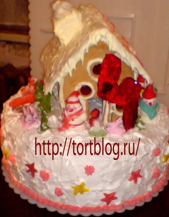 Новогодние торты фото