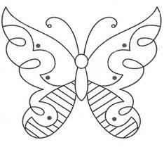 Трафарет бабочки для айсинга |