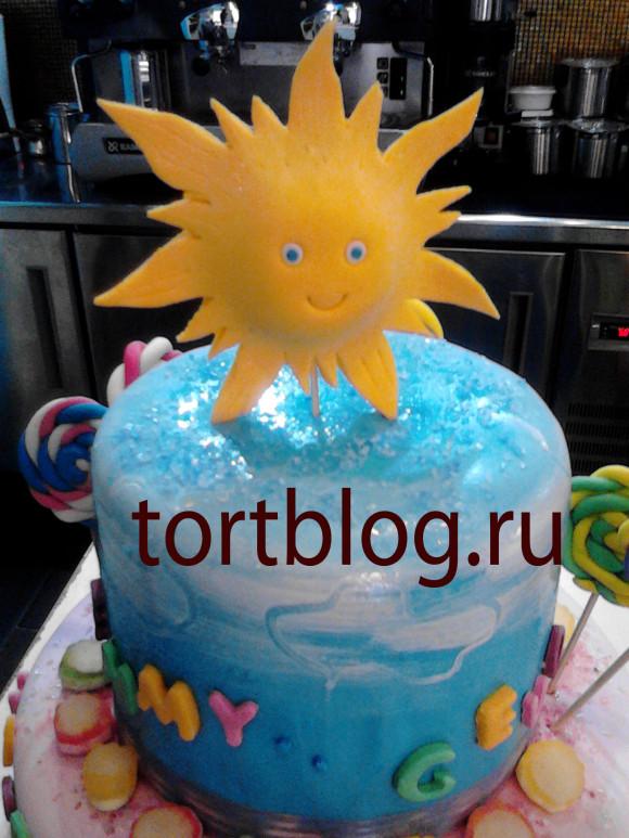 торт солнце