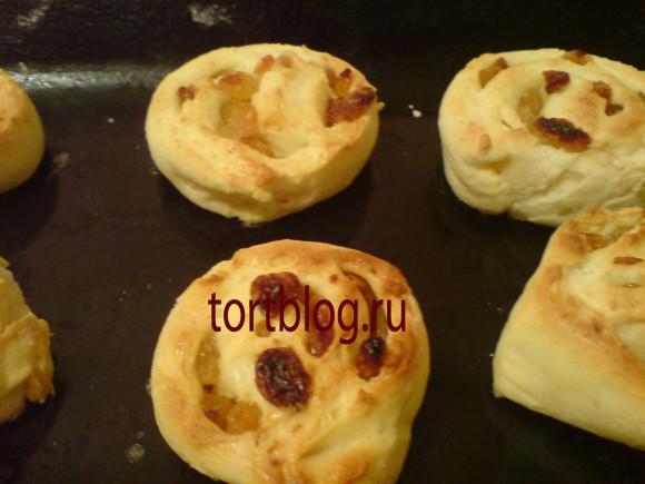 Вкусные творожные булочки