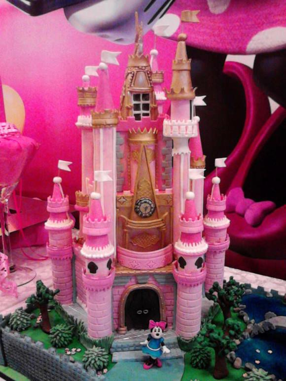Детский торт замок.