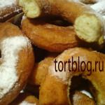 Вкусные творожные пышки